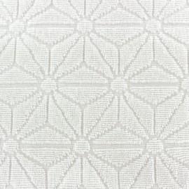 Tissu éponge jacquard Bento - écru x 25cm