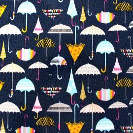 Dashwood coated cotton fabric Rain or shine - Umbrella x 15cm