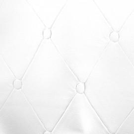 Simili cuir Chester - blanc x 36cm