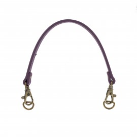 Bag-handles with buckle and snap Jenny - purple