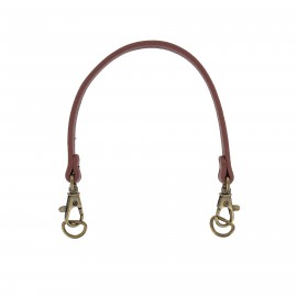 Bag-handles with buckle and snap Jenny - brown