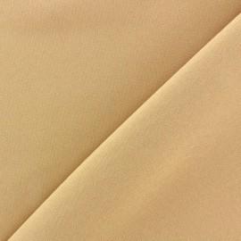 Tissu Burling - beige clair x 10cm