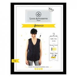 """Le top Garance"" sewing pattern"
