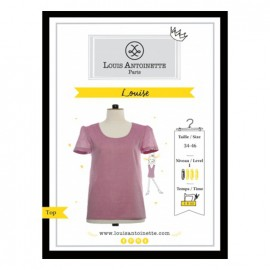 """Le top Louise"" sewing pattern"