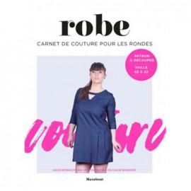 """Livre """"Robe - Carnet couture pour les rondes"""""""