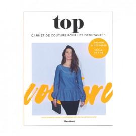 """Livre """"Top - Carnet couture pour les débutantes"""""""