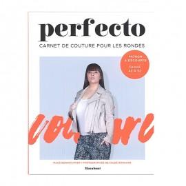 """Livre """"Perfecto - Carnet couture pour les rondes"""""""