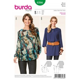 T-shirt Burda Sewing Pattern N°6567