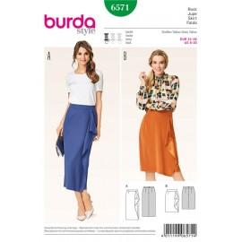 Skirt Burda Sewing Pattern N°6571