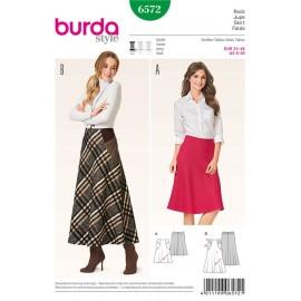 Skirt Burda Sewing Pattern N°6572