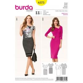 Dress Burda Sewing Pattern N°6575