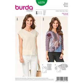 Blouse Burda Sewing Pattern N°6579