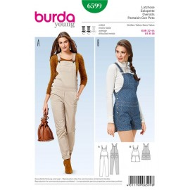 Overalls Burda Sewing Pattern N°6599