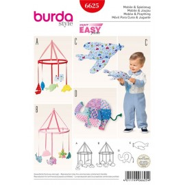 Mobile & Plaything Burda Sewing Pattern N°6625
