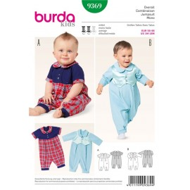 Jumpsuit Burda Sewing Pattern N°9369