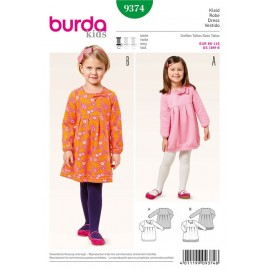 Dress Burda Sewing Pattern N°9374