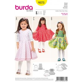 Dress Burda Sewing Pattern N°9375