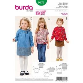 Shirt & Dress Burda Sewing Pattern N°9376