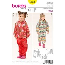 Coordinates Burda Sewing Pattern N°9378