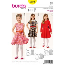 Dress Burda Sewing Pattern N°9379