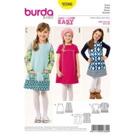 Dress Burda Sewing Pattern N°9380
