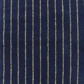 Tissu Lainage Buxton - marine x 10cm