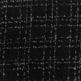 Tissu Lainage Orion - noir x 10cm