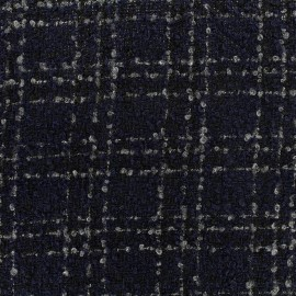 Tissu Lainage Orion - marine x 10cm