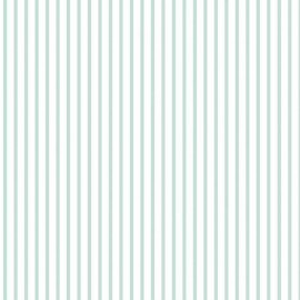 Wonderland Fabric Stripe Blue x 10 cm