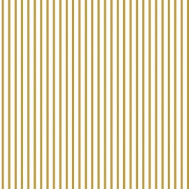 Wonderland Fabric Stripe Gold x 10 cm
