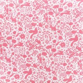 Tissu double gaze de coton Shadow Garden - blossom x 10 cm
