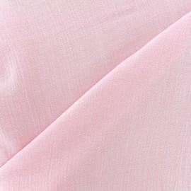 Tissu double gaze de coton Solid bubble gauze - blossom x 10 cm