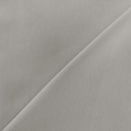 Tissu jeans 400gr/ml - gris beige x 10cm