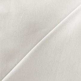 Tissu jeans 400gr/ml - écru x 10cm