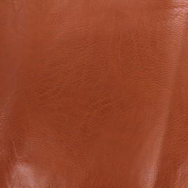 Simili cuir frappé vintage - marron clair x 10cm