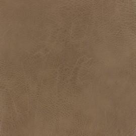 Simili cuir frappé vintage - marron x 10cm