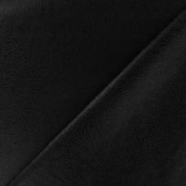 Simili cuir souple Clara - noir x 10cm