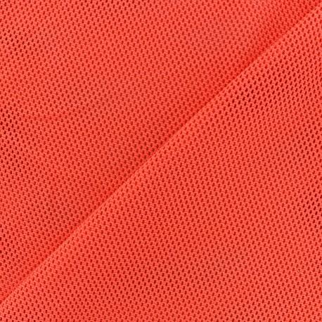 Tissu polyester r sille orange x 10 cm ma petite mercerie - Teindre tissu polyester ...