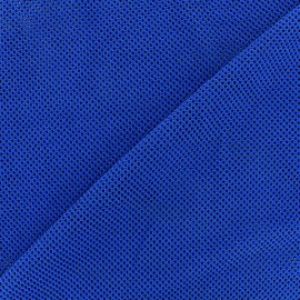 Polyester fishnet fabric - navy x 10cm