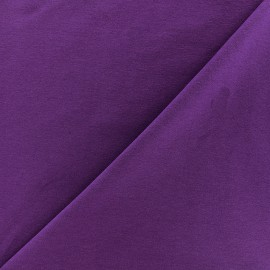 Jersey Fabric - purple x 10cm