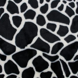 Baby's Security Blanket Savane - black giraffe x 10cm