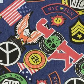 Tissu jeans New York - dark x 61cm