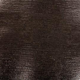 Simili cuir Iron - bronze x 10cm
