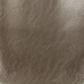 Simili cuir Tibet - mordoré x 10cm