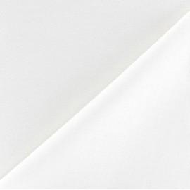 Tissu doublure polycoton Laure (150cm) - blanc x 10cm