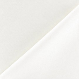 Polycotton lining Fabric Laure (150cm) - ivory x 10cm