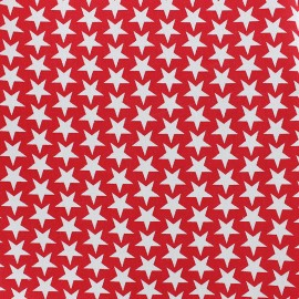 Cotton fabric Monroe - red x 10cm