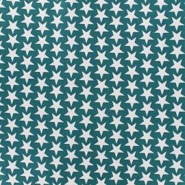 Cotton fabric Monroe - teal x 10cm