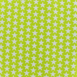 Cotton fabric Monroe - lime x 10cm