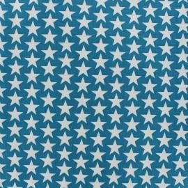 Cotton fabric Monroe - petrol x 10cm